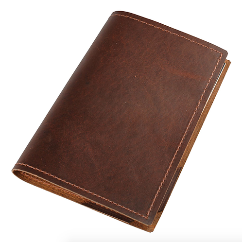 Vintage Leather Journal Sleeve by Repurposed on Purpose