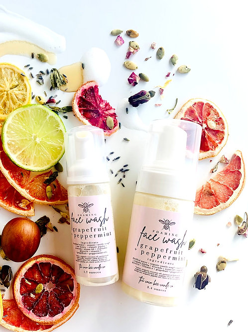 Super Foods Face Wash by The Coco Bee Candle Company