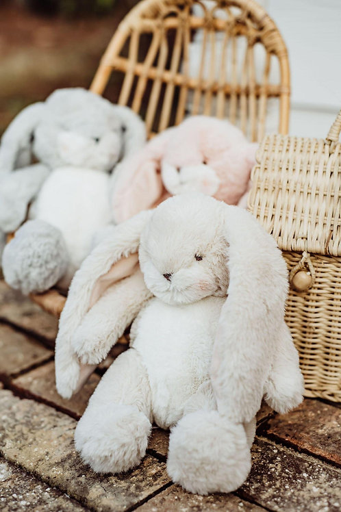 Wee Nibble Bunny in Cream by Bunnies By the Bay