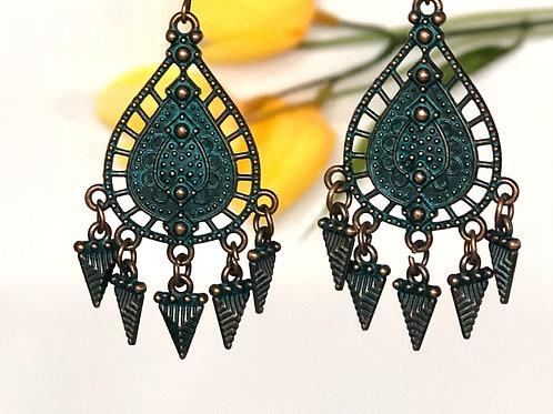 Arrow Boho Earrings by Beautiful Boundaries