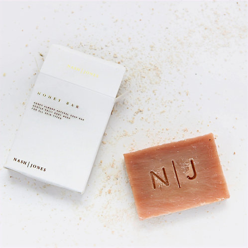 Honey Almond Natural Cleansing Bar by Nash and Jones