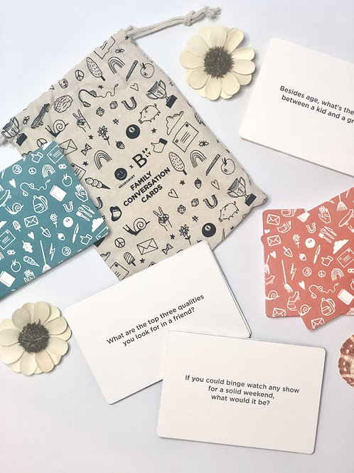 Family Conversation Cards by Boon Supply