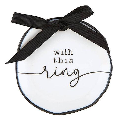 Ring Bearer Dish