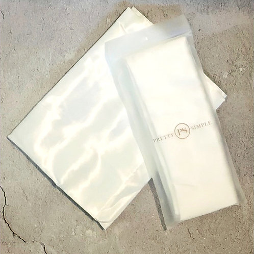 Satin Beauty Pillow Case -White