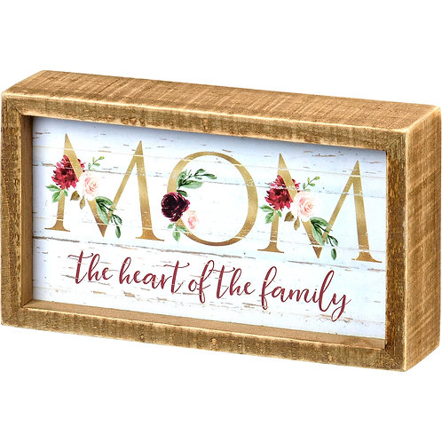 Mom the Heart of the Family