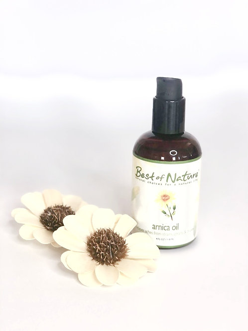 Arnica Oil by Best of Nature - 100% Pure and Natural