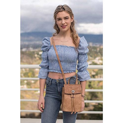 """Abby"" interchangeable Crossbody/Backpack by Liz Soto Handbags"
