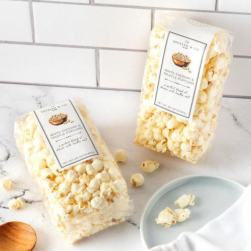 White Cheddar & Truffle Popcorn by Jocelyn & Co