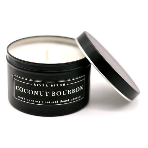 Coconut Bourbon Soy Candle by River Birch Candles