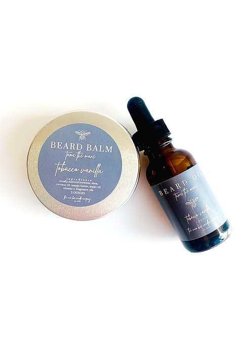 The Bearded Bee Combo by The Coco Bee Candle Company