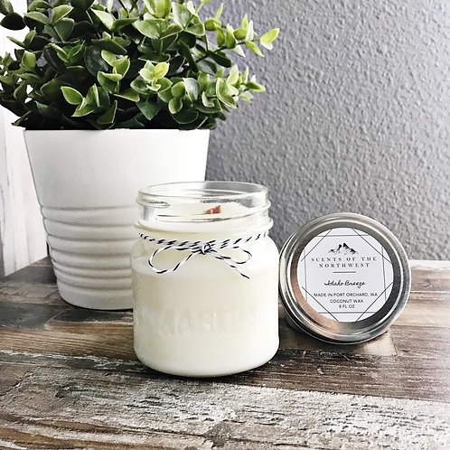 """""""Idaho Breeze"""" Coconut Wax Candle by Scents of the Northwest"""
