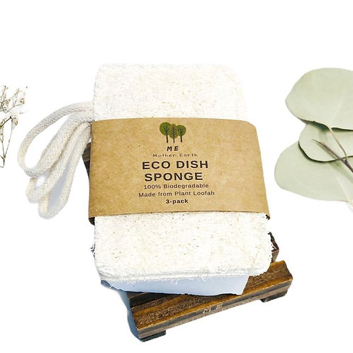 3 pack Eco Dish Sponge by Me Mother Earth