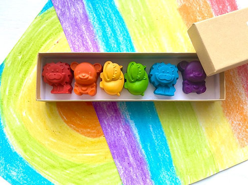 Animal Crayon Gift Box by KagesKrayons