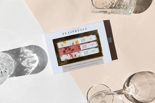 Instant Champagne Cocktail Kit by Teaspressa