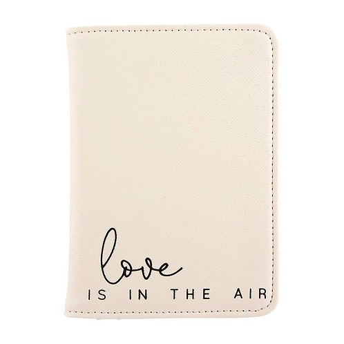 """""""Love Is In The Air"""" Passport Holder"""