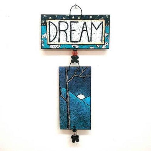 Handpainted Dream Tile Set by MY Art