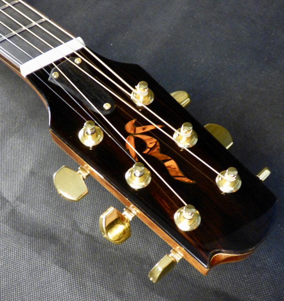 Headstock inlay