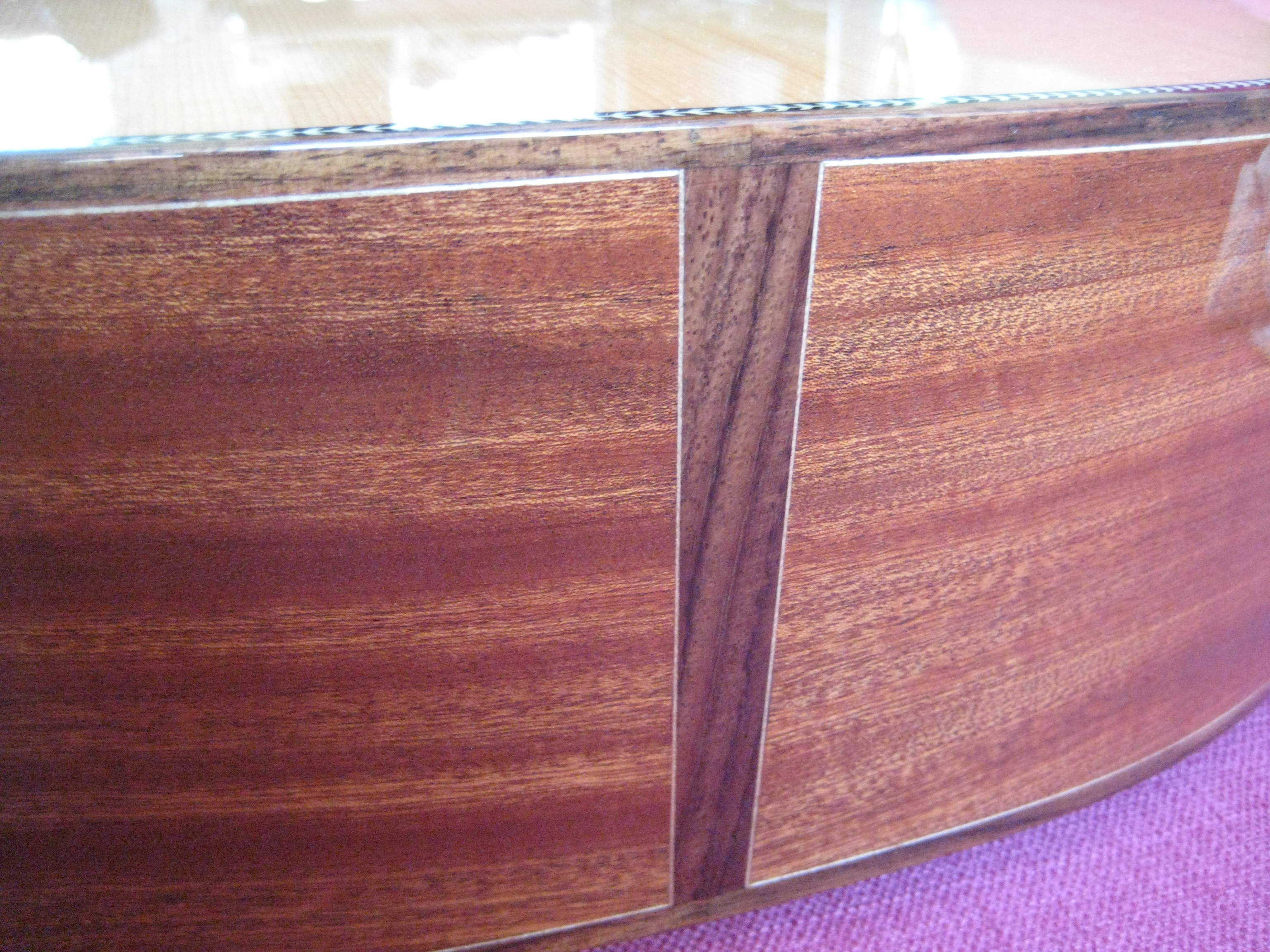 Rosewood butt wedge