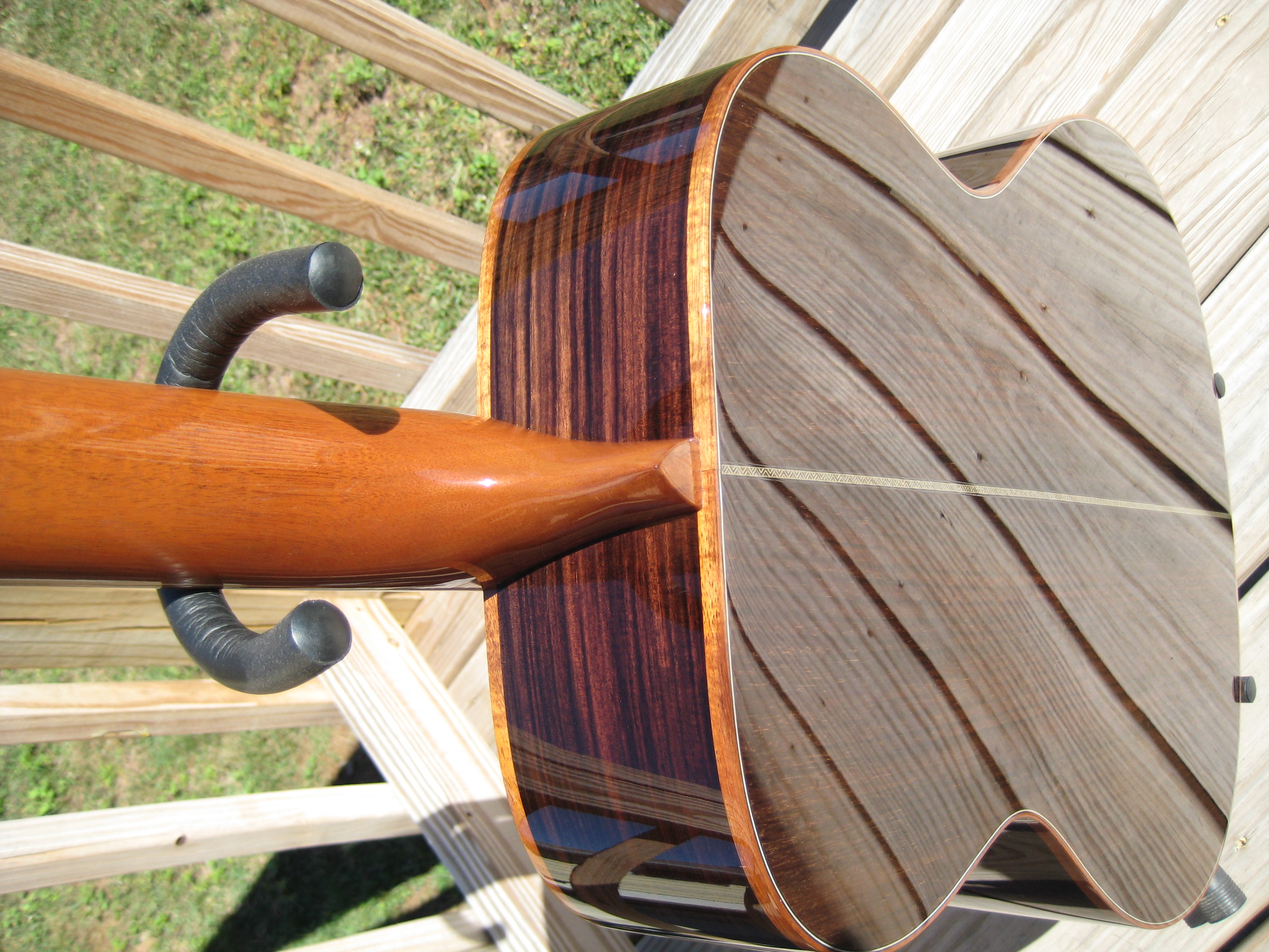 solid Indian rosewood back & sides