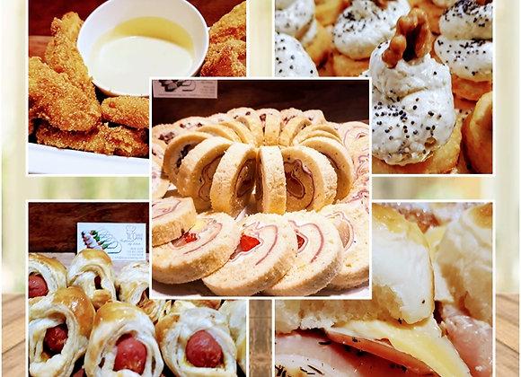 Menú Gourmet 8 Bocados x Persona -Base 20 Personas