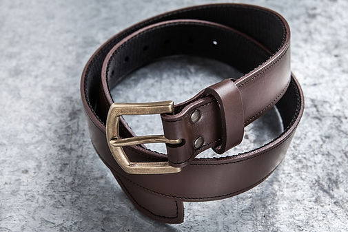 Gun Belt, Classic Belt, Leather Belt
