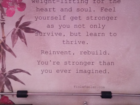 Weight-training for the heart and soul…..