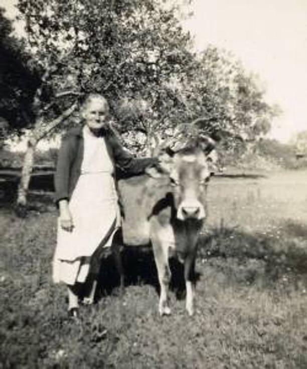 GGma Annie Deason on the share-crop farm