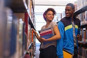 library-flirting