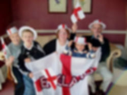 Soccer world cup celebrations before England loss on creation6000.com