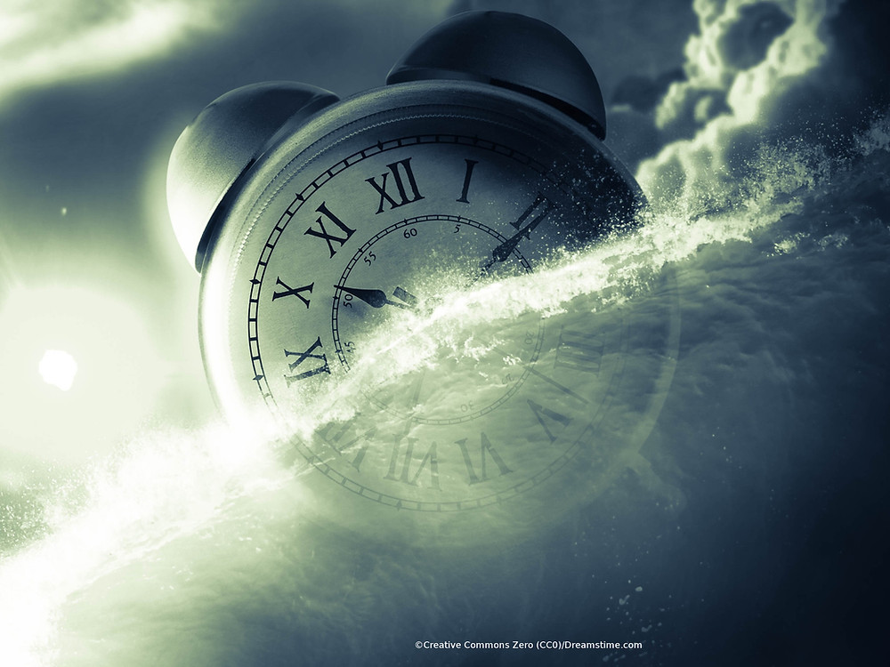 Measure of time in heaven and on Earth