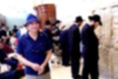 Virologist Prof Raffi Salomon in Jerusalem Charles Pallaghy co-worker