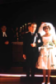 Charles Pallaghy and Milena marry in Lutheran church in 1963 on creation6000.com