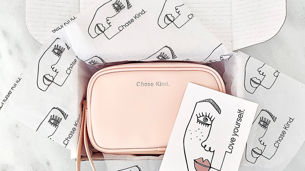 Pink Universal Pouch Bag
