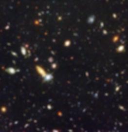 Clusters of galaxies in deep space