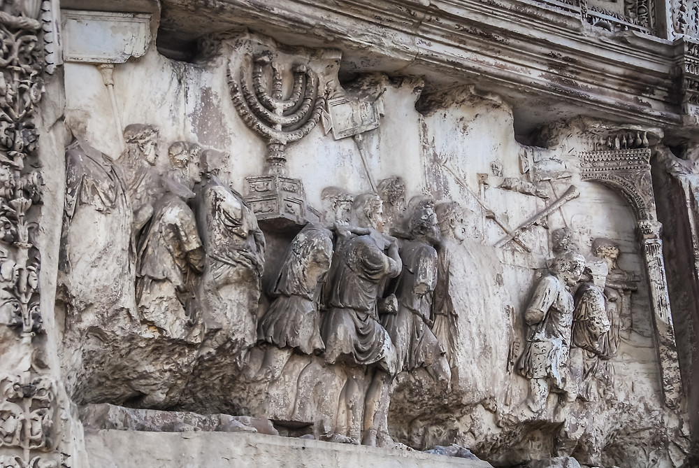 The only genuine image of the lampstand from the temple in Jerusalem on creation6000.com