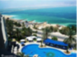 Hotel view of Dead Sea in Israel on creation6000.com