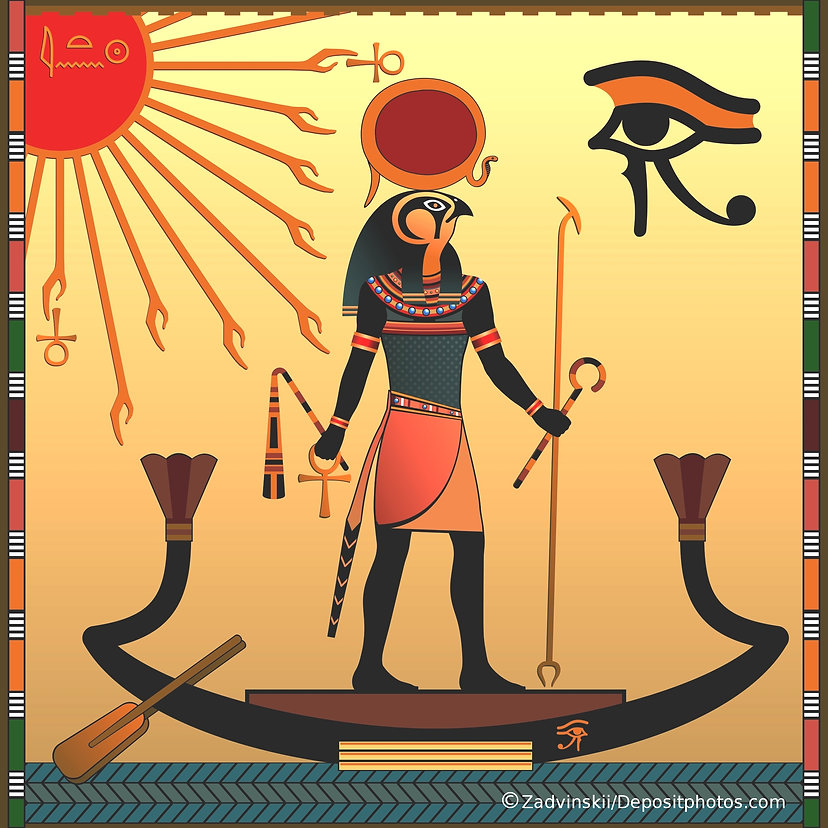Snakes and Egyptian gods