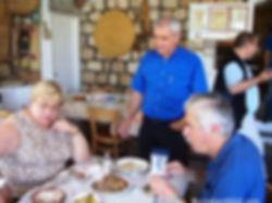 Questioning menu in Arab restaurant in northern Galilee on creation6000.com