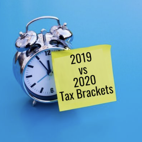 2020 vs 2019 Tax Brackets