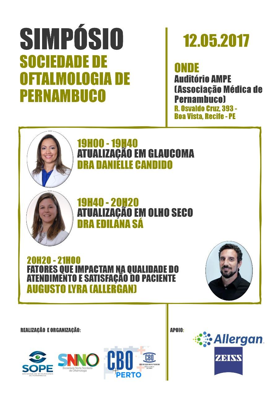 Simpósio SOPE - 12/05/17