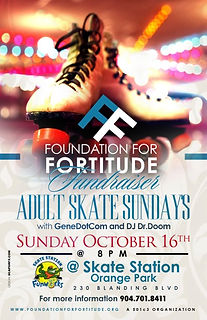 Foundation for Fortitude Skate Fundraiser 2016