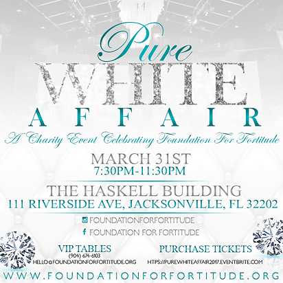 Jacksonville Community Outreach Pure White Affair