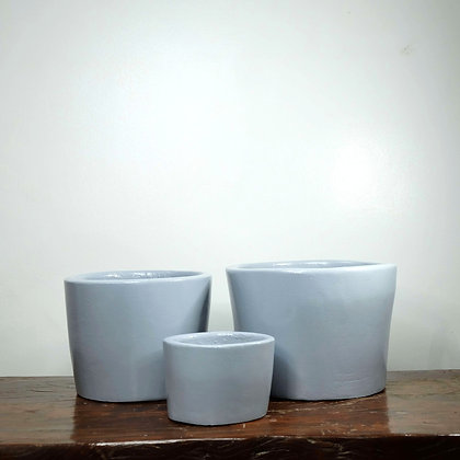 Gray Clay Pots