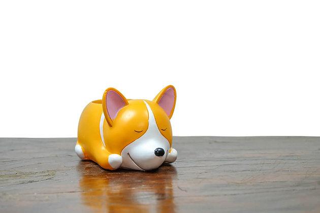 Dog Resin Pots