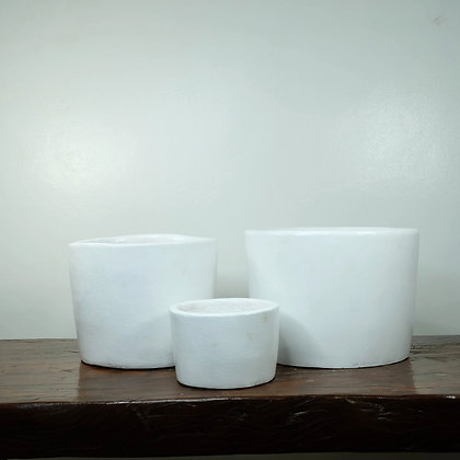 White Clay Pots