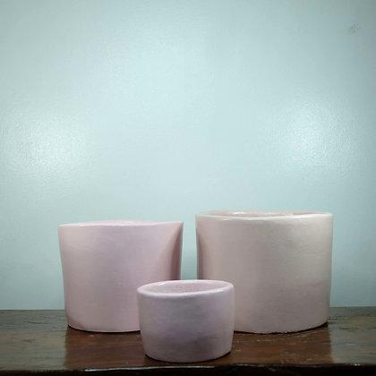 Pink Clay Pots