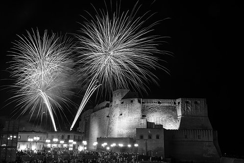 Naples. Party at the castle
