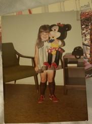 Me at Disneyland.