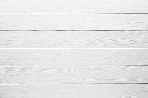White Wood Stripe
