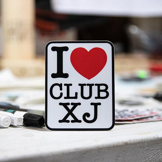 I <3 Club XJ